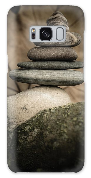 Stone Cairns Iv Galaxy Case