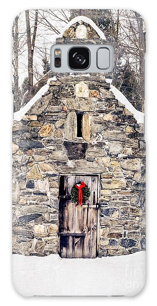 Stone Chapel In The Woods Trapp Family Lodge Stowe Vermont Galaxy Case