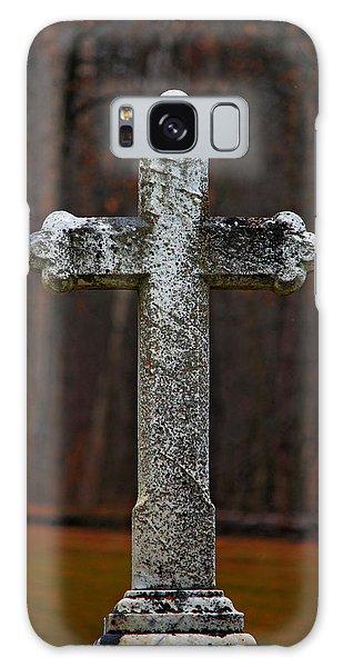 Stone Cross Galaxy Case by Rowana Ray