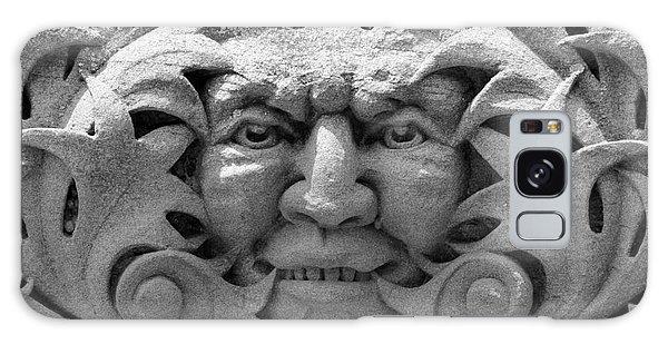 Stone Face I Galaxy Case