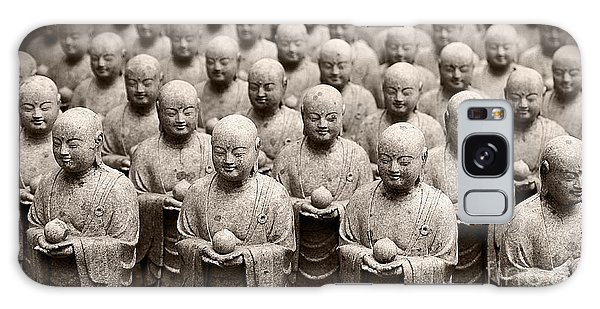 Stone Figures Of Jizo Galaxy Case