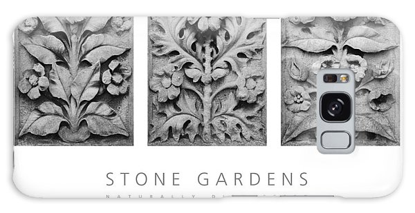 Stone Gardens 1 Naturally Distressed Poster Galaxy Case by David Davies