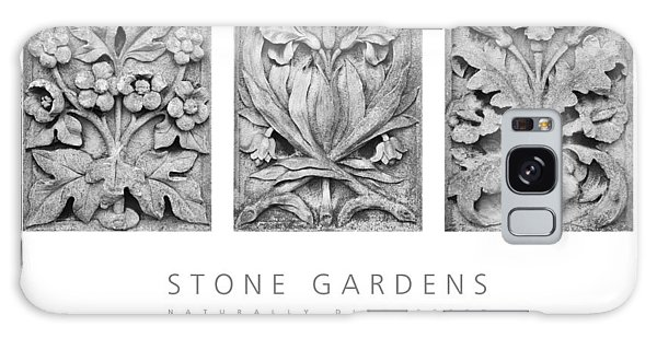 Stone Gardens 2 Naturally Distressed Poster Galaxy Case by David Davies