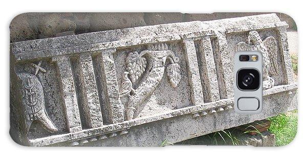 Stone In Tarquinia Galaxy Case