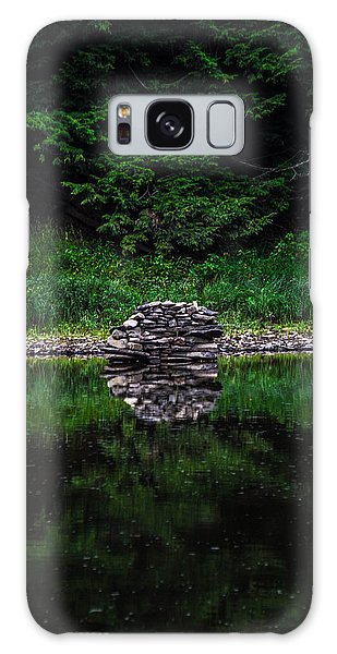 Stone Reflection Galaxy Case by Anthony Thomas