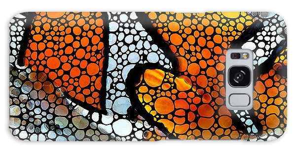 Scuba Diving Galaxy Case - Stone Rock'd Clown Fish By Sharon Cummings by Sharon Cummings