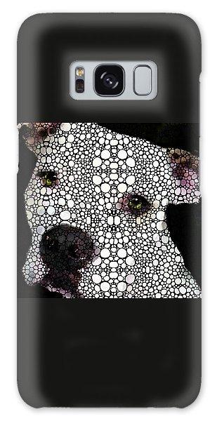 Bull Galaxy Case - Stone Rock'd Dog By Sharon Cummings by Sharon Cummings