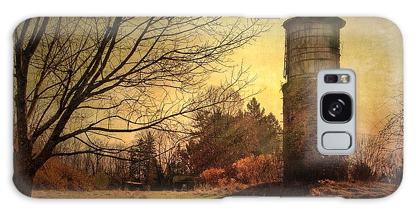 Stone Silo And Water Tower  Galaxy Case