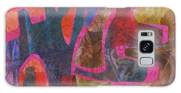 Stone Tree Sunrise Galaxy Case by Catherine Redmayne