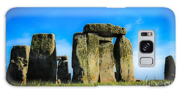 Stonehenge From The Earth Galaxy Case by David Warrington