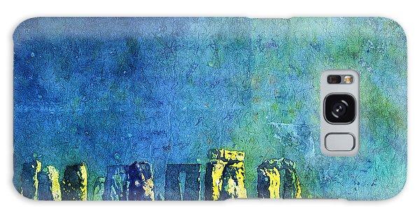 Stonehenge In Moonlight Galaxy Case