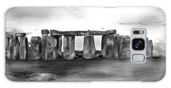 Stonehenge In The Rain Galaxy Case
