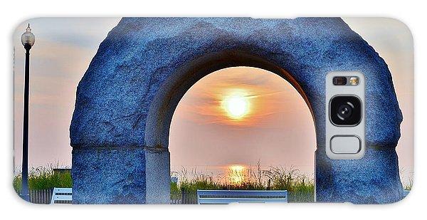 Sunrise Through The Arch - Rehoboth Beach Delaware Galaxy Case