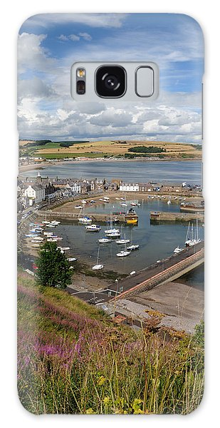 Stonhaven Harbour  Scotland Galaxy Case by Jeremy Voisey
