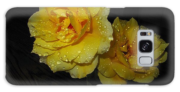 Stop And Smell The Roses Galaxy Case by Joyce Dickens