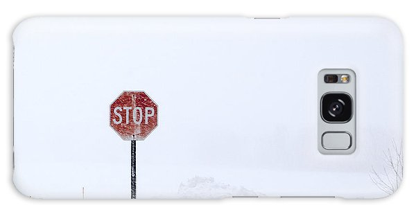 Stop For Snowstorm Galaxy Case