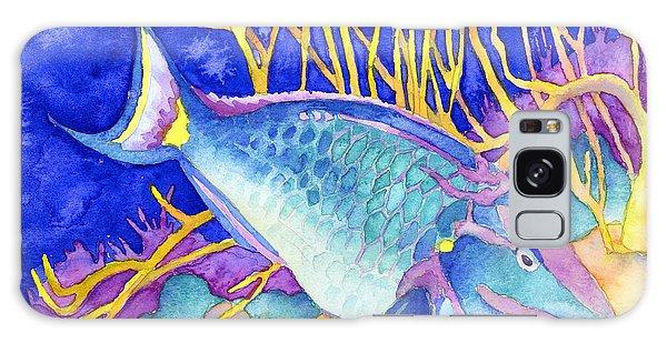 Stoplight Parrotfish Galaxy Case