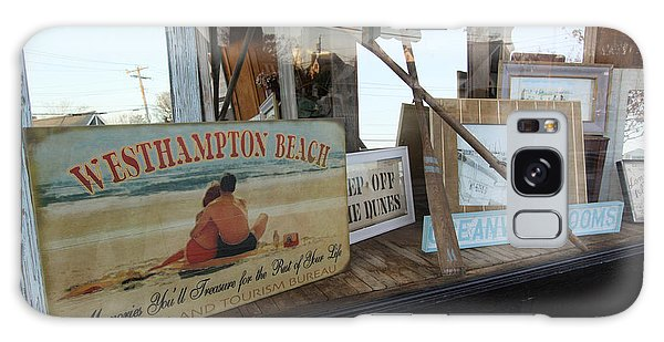 Store Front Westhampton New York Galaxy Case by Bob Savage