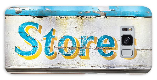 Mottled Galaxy Case - Stores Sign by Tom Gowanlock