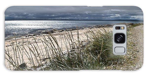 Storm Arising Dornoch Beach Scotland Galaxy Case
