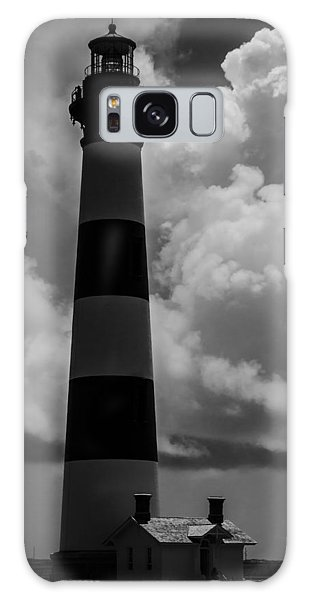Storm At Bodie Light Galaxy Case