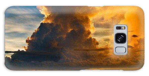 Storm At Sea Galaxy Case