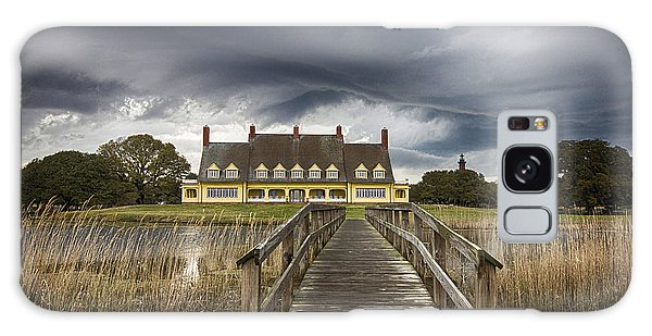 Storm At Whalehead Club Galaxy Case