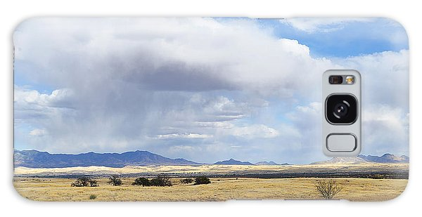 Storm Brewing North Of Sonoita Az Galaxy Case by Alan Lenk