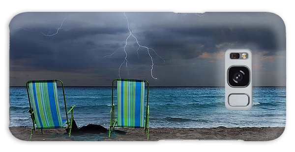 Ominous Galaxy Case - Storm Chairs by Laura Fasulo