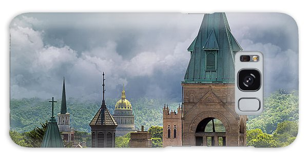 Storm Clouds In Charleston Wv Galaxy Case