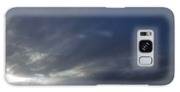 701p Storm Clouds Galaxy Case