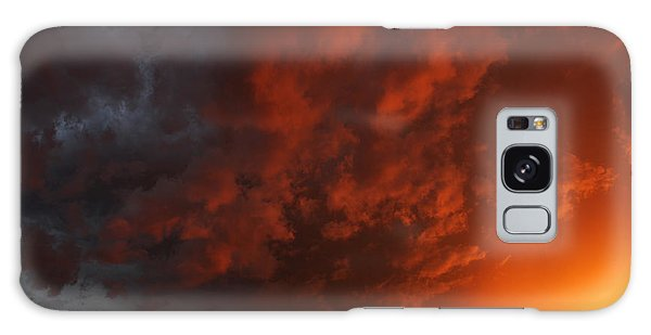 Storm Clouds Over Yorkton II Galaxy Case by Ryan Crouse
