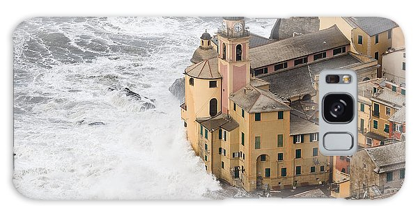 Storm In Camogli Galaxy Case