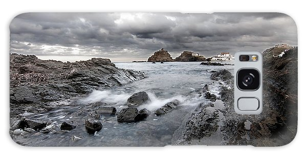 Storm Is Coming To Island Of Menorca From North Coast And Mediterranean Seems Ready To Show Power Galaxy Case by Pedro Cardona