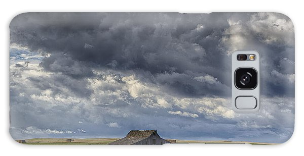 Storm Over Barn Galaxy Case