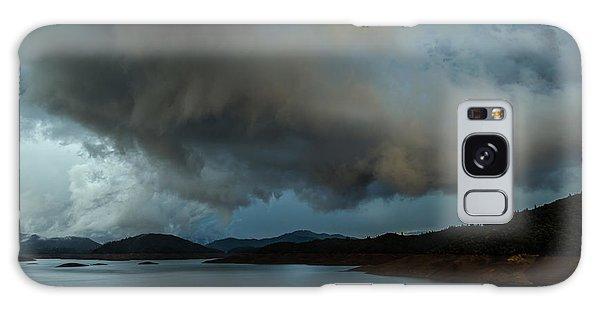 Storm Over Lake Shasta Galaxy Case
