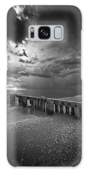 Storm Over Naples Florida Beach Galaxy Case by Bradley R Youngberg