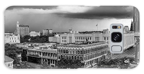 Storm Over San Antonio Texas Skyline Galaxy Case