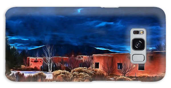 Storm Over Taos Lx - Homage Okeeffe Galaxy Case