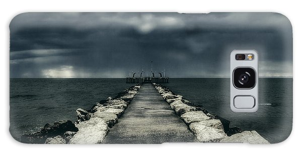 Storm Over The Sea Galaxy Case