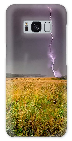Storm Over The Wheat Fields Galaxy Case
