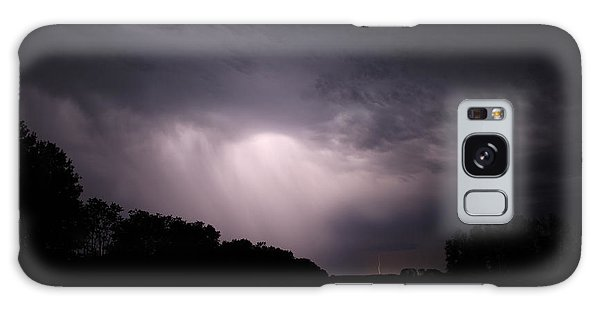 Storm Over Wroxton Galaxy Case by Ryan Crouse