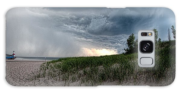Storm Rolling In Galaxy Case by John Crothers