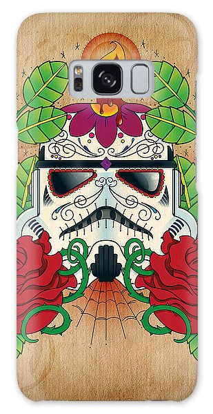 Storming Galaxy Case - Storm Trooper Sugar Skull by Samuel Whitton