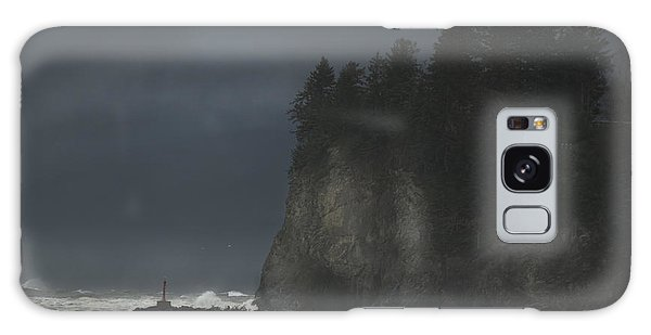 Storm At Lapush Washington State Galaxy Case
