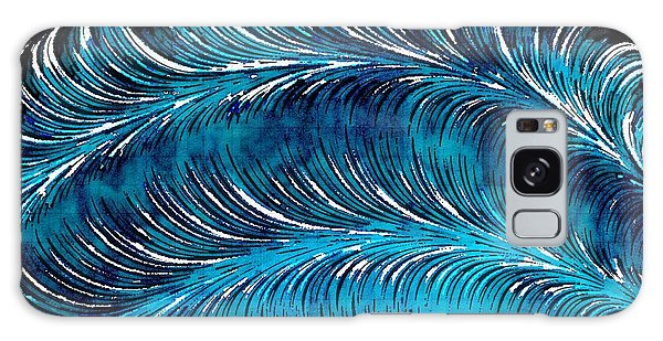 Storms At Sea Galaxy Case