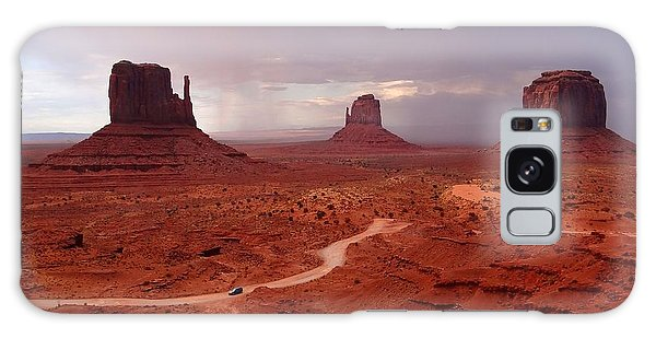 Storms Moving Through Monument Valley Galaxy Case