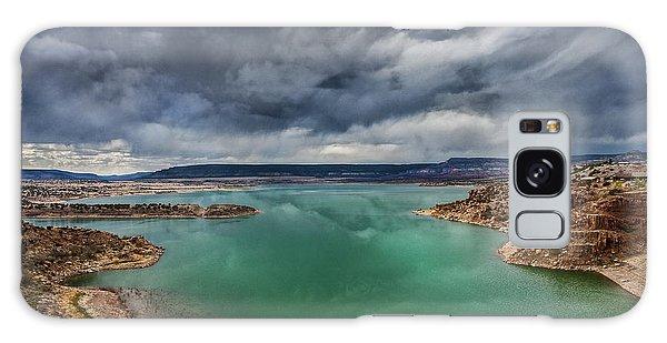 Stormy Abiquiu Lake Galaxy Case
