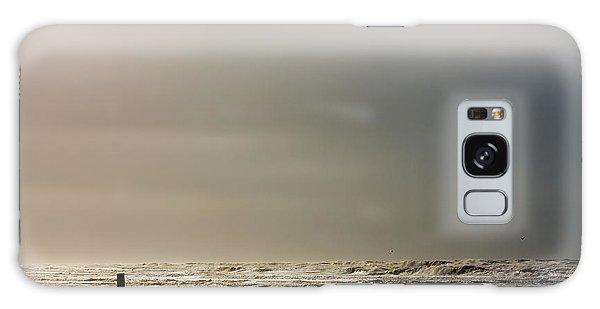 Stormy Beach Galaxy Case