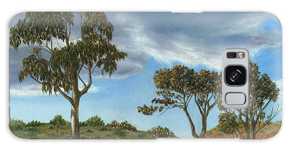 Stormy Eucalyptus Galaxy Case